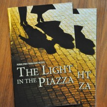 The Light in the Piazza creative direction and design