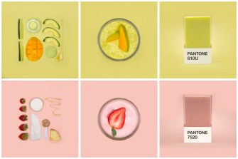 Care to Try a Pantone Smoothie?
