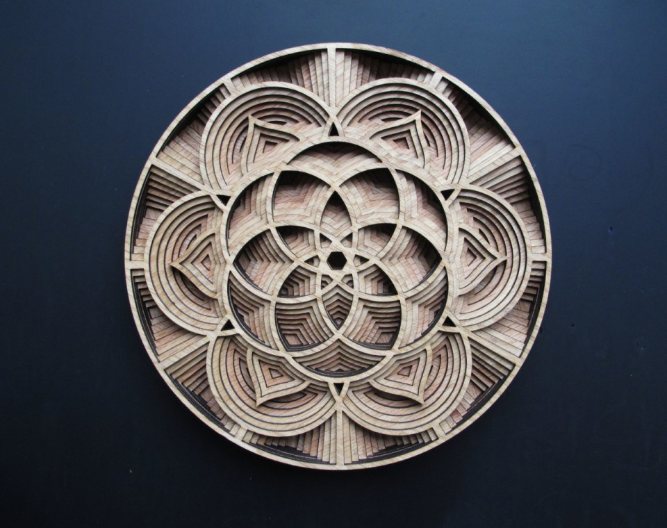 Gabriel Schama laser cut artworks 4