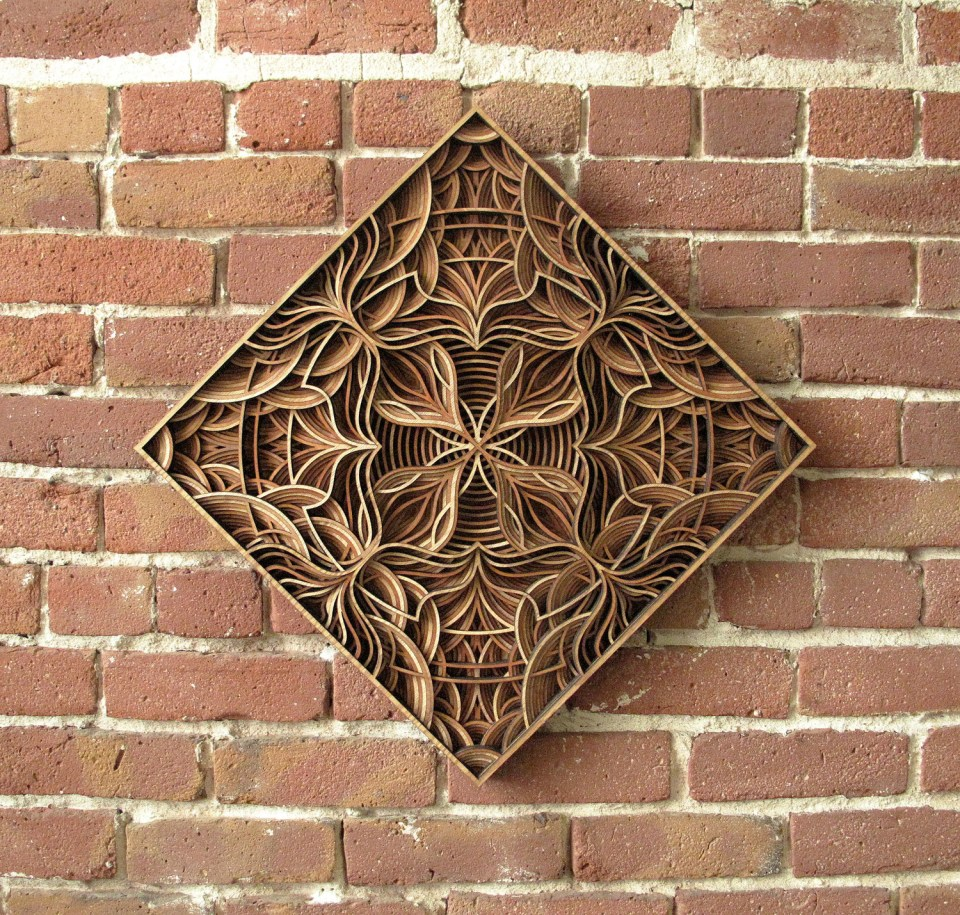 Gabriel Schama laser cut artworks 7