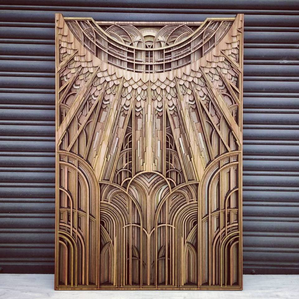 Gabriel Schama laser cut artworks 14