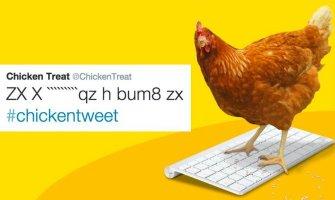 This Chicken Is Running a Restaurant's Twitter Account