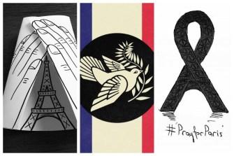 11 Ways Artists Sent Their Love to Paris
