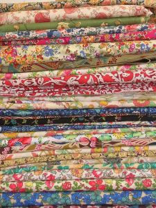 stack of beautiful liberty of london prints