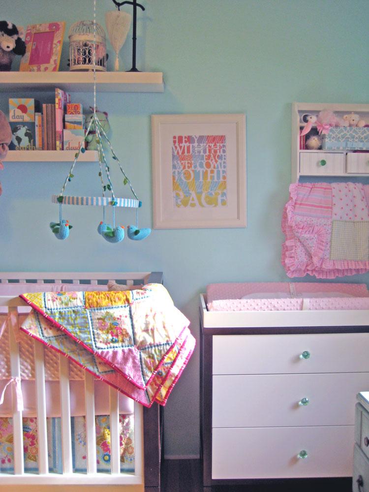 The Nursery side of the Nursery/Office