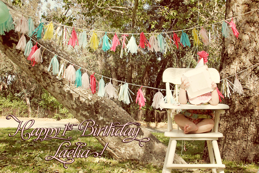 Laelia's First Birthday