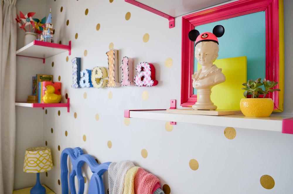 fabric cardboard letters DIY