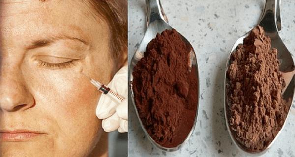 Kakaová maska na obličej s avokádem
