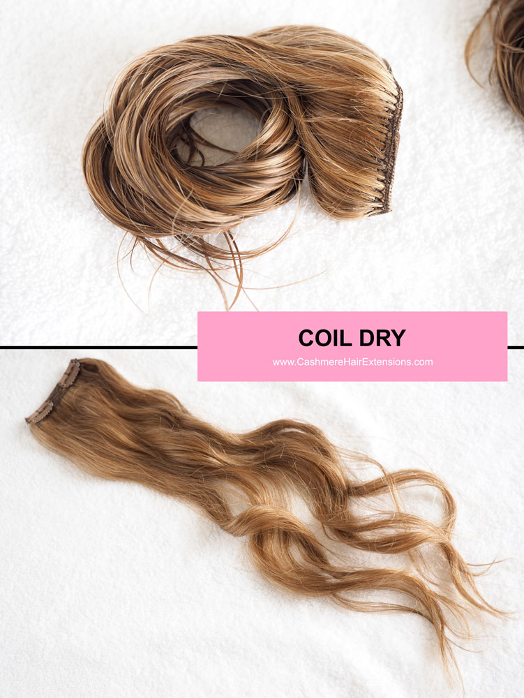 5 Ways To Air Dry Hair Extensions Viva Glam Magazine Coil Dry 2