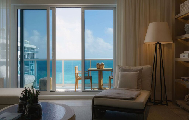 Eco Luxury Miami 1 Hotel South Beach Room view