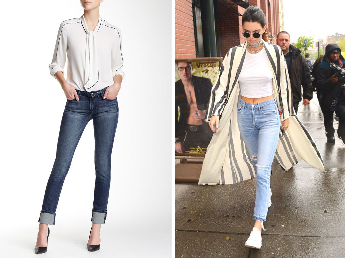 styling your jeans straight leg jeans