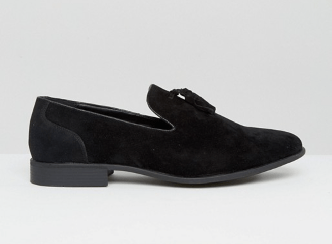 Loafers Asos black