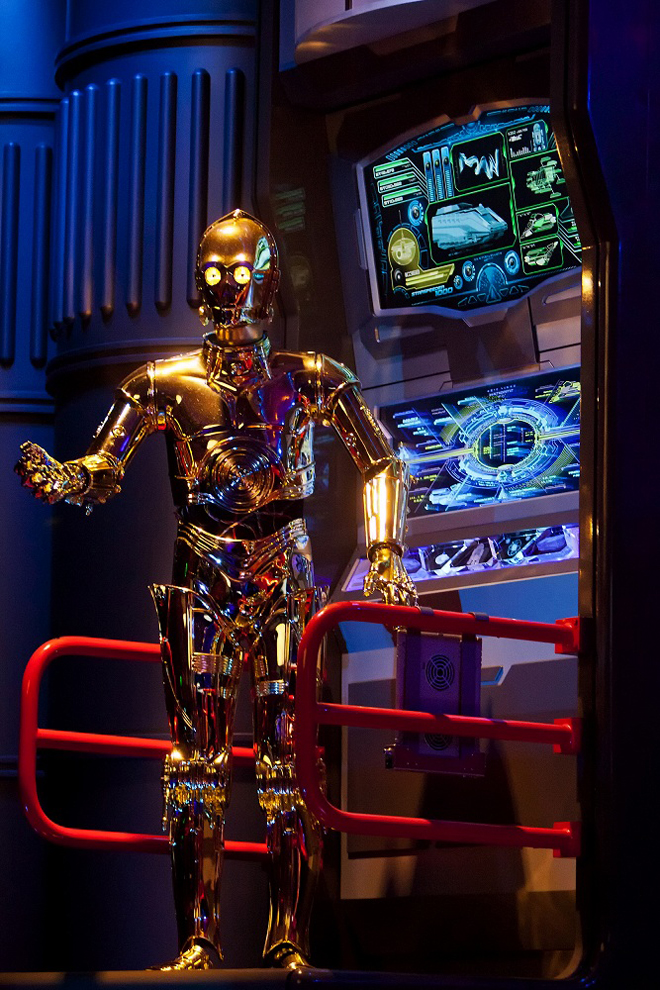 Star Wars Land Star Tours Disneyblog C3PO