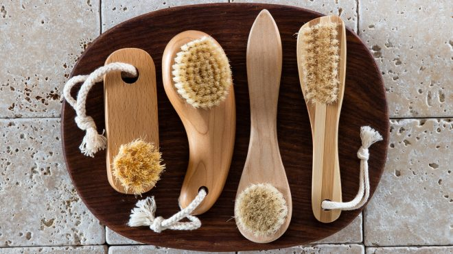 Dry Brushing Dermatology Skincare Bodycare Exfoliate Scrub