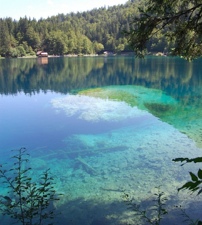 Where to Find the Clearest Water in the World Laghi de Fusine, Italy