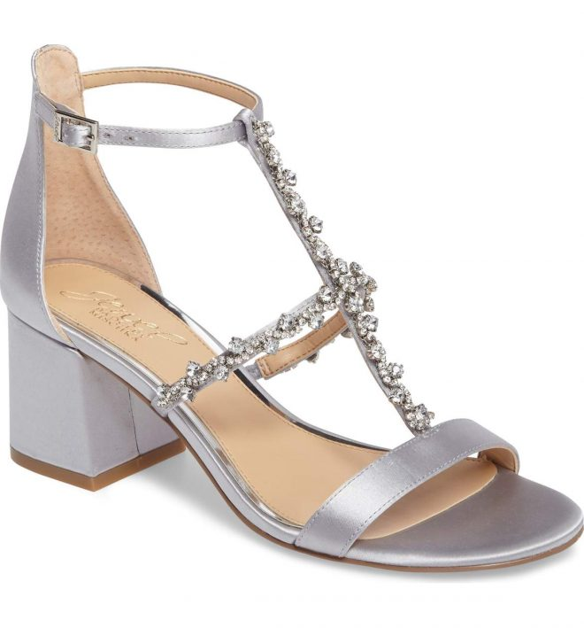21 Vegan Shoes with Embellished Straps 'Cause They're Fabulous silver sandals