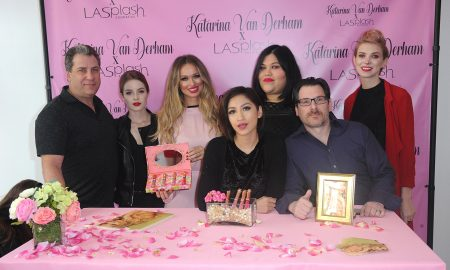 Meet And Greet For Katarina Van Derham's New Lipstick Launch