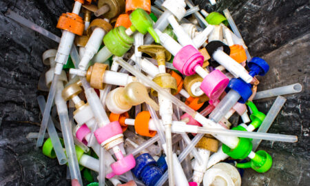 plastic, empties, beauty bottles, pumps