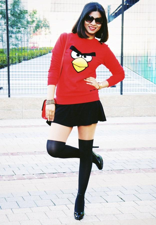 2014 trend : Angry birds Sweatshirt
