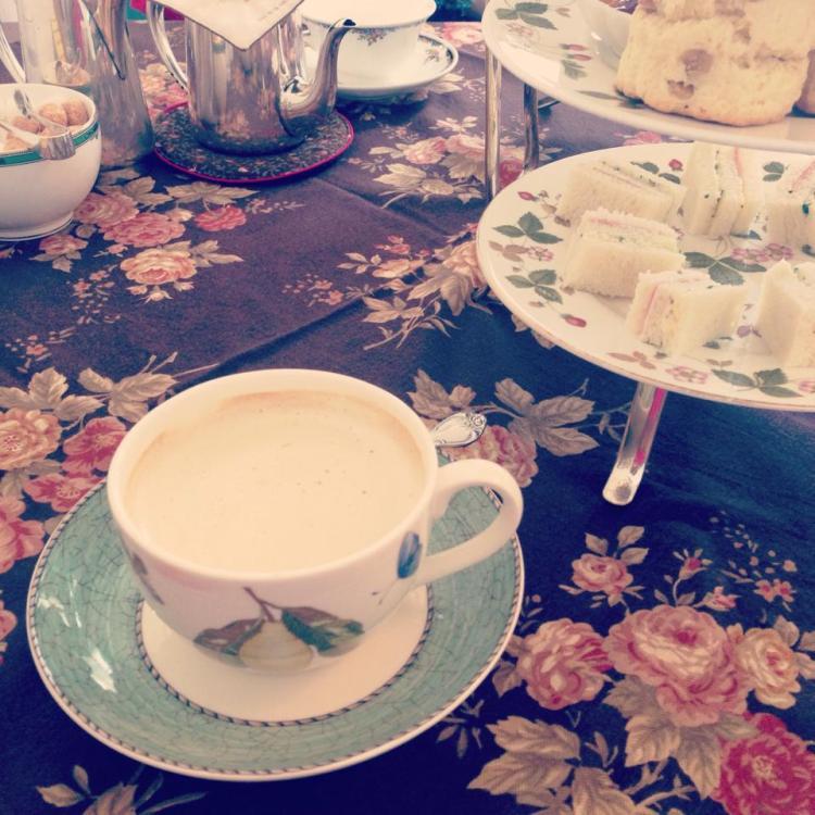 Afternoon tea set - Kitahama Retro Cafe Osaka Japan