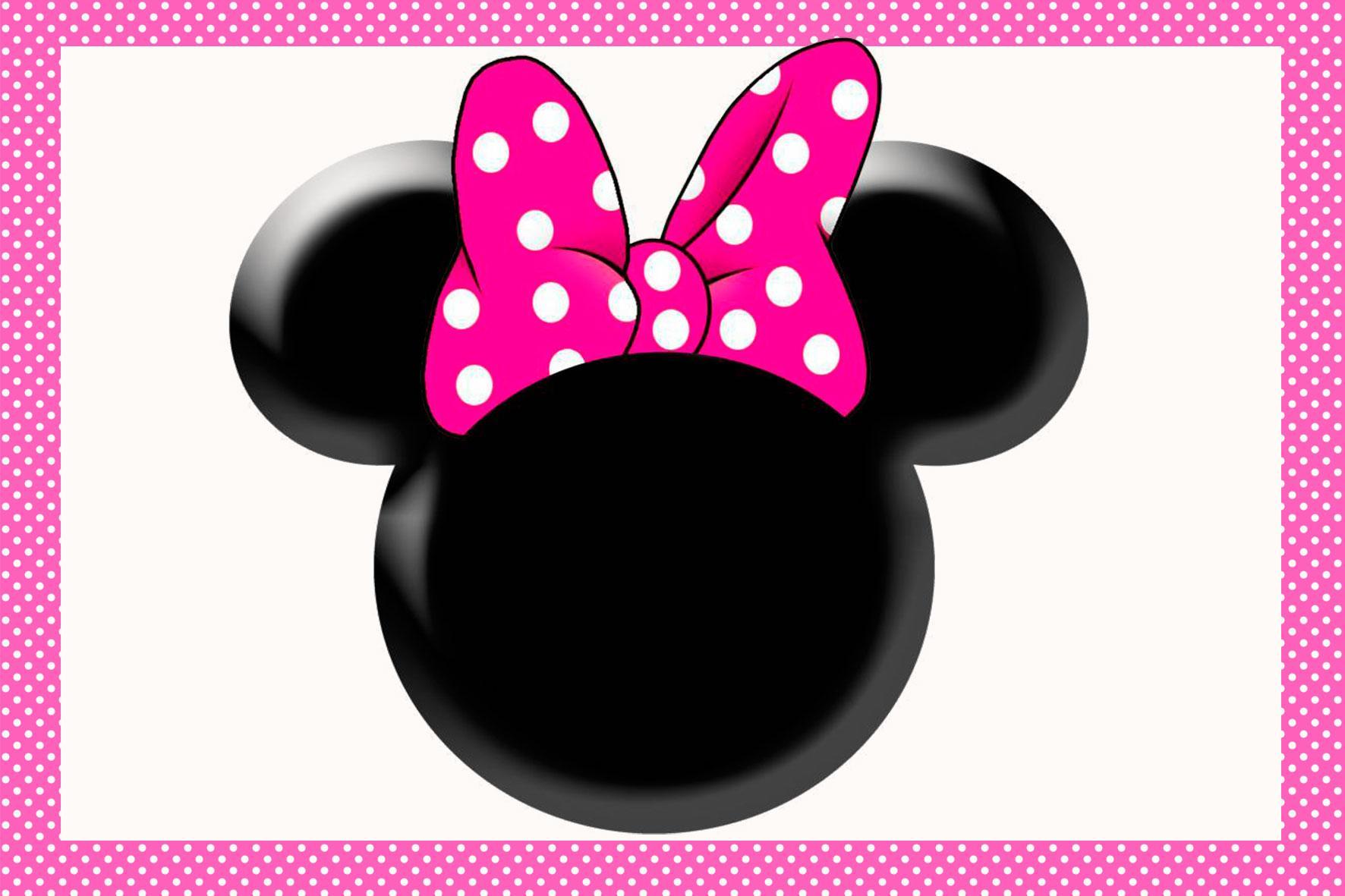 Moldes do Mickey e Minnie (Rostinho para Lembrancinhas da