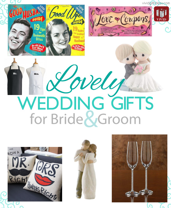 Wedding Gifts For 2 Grooms : Lovely Wedding Gifts for Bride and Groom - Vivids