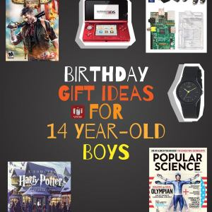 Birthday Gift Ideas for 12 / 13/ 14 Year Old Boy That He'll Actually ...