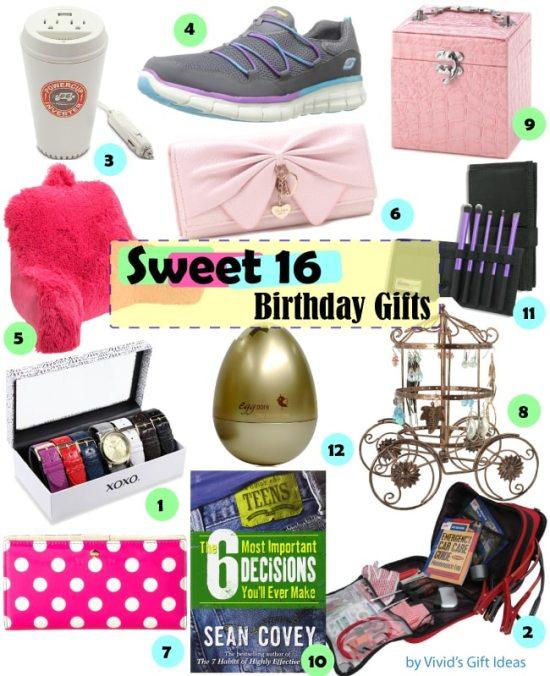 Gift Ideas for Girls Sweet 16 Birthday - Vivid's  Birthday Gift Ideas For Teenage Girls