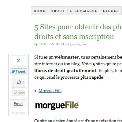 sharebar plugin