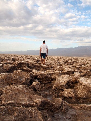 Devil's golf - Death Valley