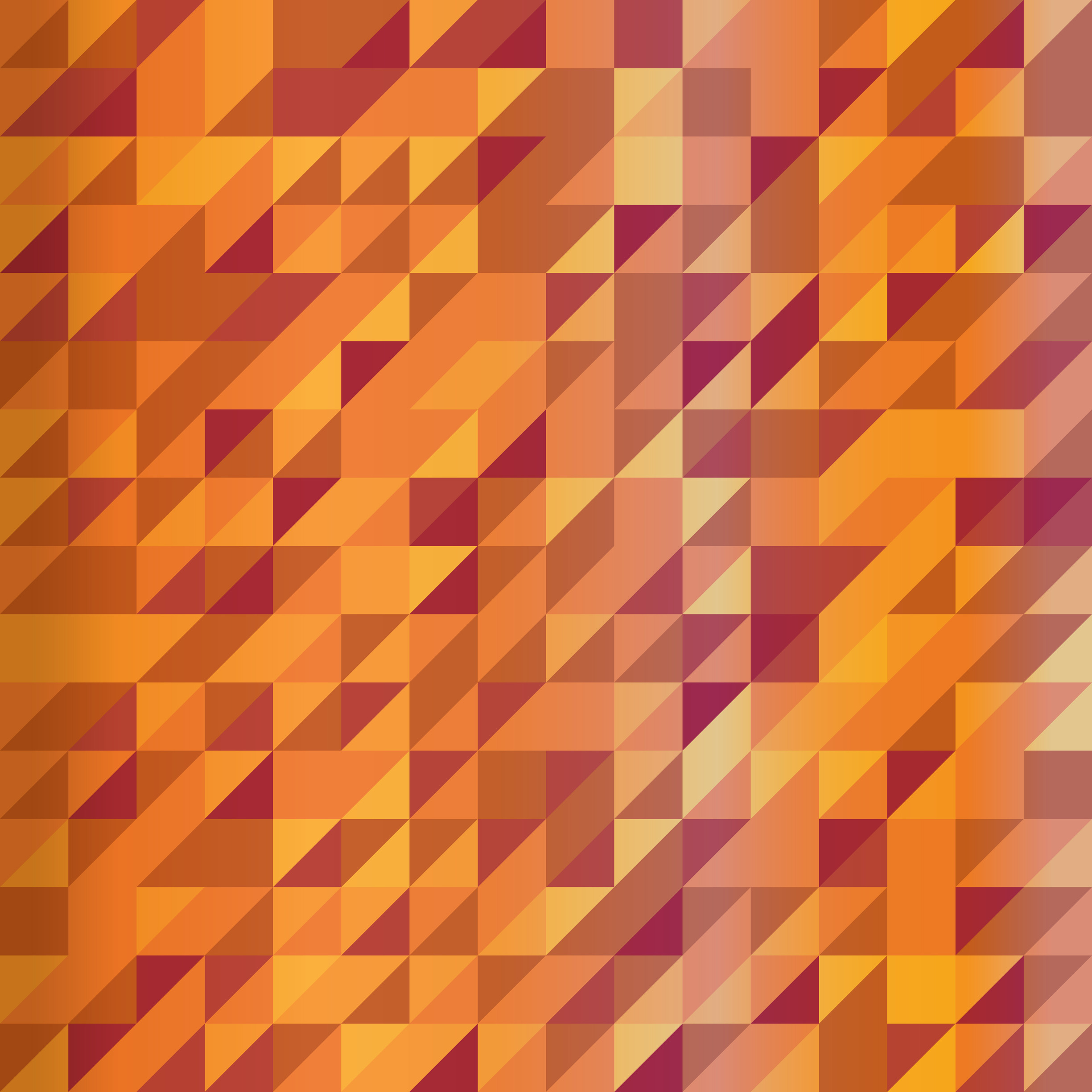 color bright abstract triangles background