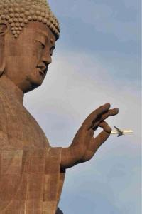buddha-catches-plane