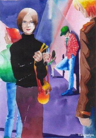 1998. Watercolor.