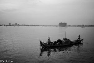 2013. Mekong River. Phnom Penh.