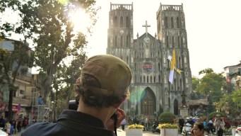 St. John's Cathedral. Hanoi. Vietnam. December 2016. Lumix GF2.