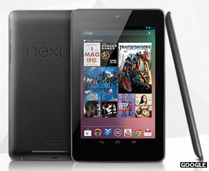Google nexus 7 Googles Nexus 7
