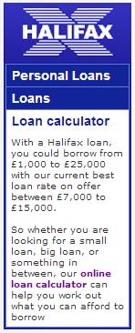 loans Halifax Bank Google Penalty Lifted (?)