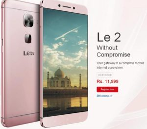 Script Trick to Buy Lemall Le 2 Mobile + Rs. 1200 Cashback