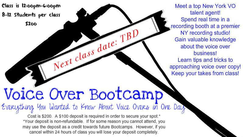 Voice Over Bootcamp