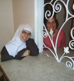 Sarah and Sr. Veronica