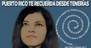Afiche de la actividad en conmemoración de Antonia Martínez.