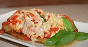 La lasaña de berenjena es un plato sumamente saludable.