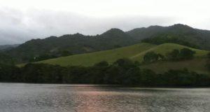 Vista del lago de Patilla