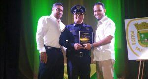 La Policía Municipal de Villalba fue homenajeada este jueves, al cumplirse 30 años de su fundación.