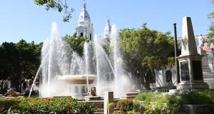 Plaza Las Delicias, en Ponce. (Voces del Sur)