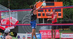 El torneo de Voleibol de Playa de NORCECA se celebra en el estadio Centroamericano del balneario de Boquerón en Cabo Rojo.