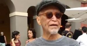 Elizam Escobar participó este sábado en las actividades de la Campechada. (Captura de pantalla / Facebook / Campechada)