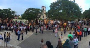 La plaza pública Luis Muñoz Rivera de Coamo sirve de escenario múltiples actividades durante el año.