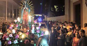 La celebración de las Mañanitas incluye una procesión por el casco urbano de Ponce.