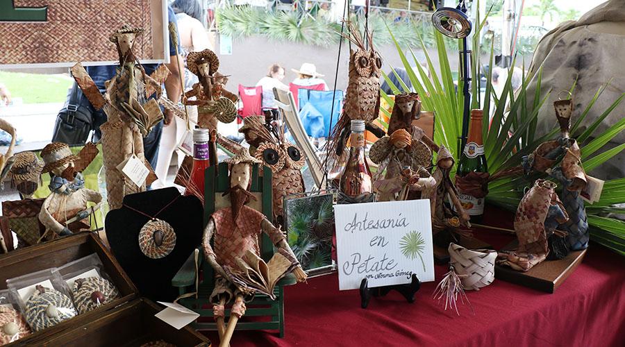 El Festival del Petate se llevó a cabo en la plaza pública de Sabana Grande. (Voces del Sur)
